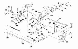 Johnson Shift Linkage Parts For 2000 25hp J25jrtsss