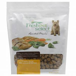 freshpetr dog food roasted meals chicken with carrots and With freshpet dog food