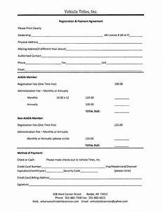 Vehicle payment agreement template auto sale contract with for Installment sale agreement template