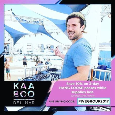 """Our monthly and weekly newsletters will keep you informed about the latest and greatest happenings. GET YOUR TICKETS NOW PROMO CODE DISCOUNT """"fivegroup2017"""" At https://www.kaaboodelmar.com/ # ..."""