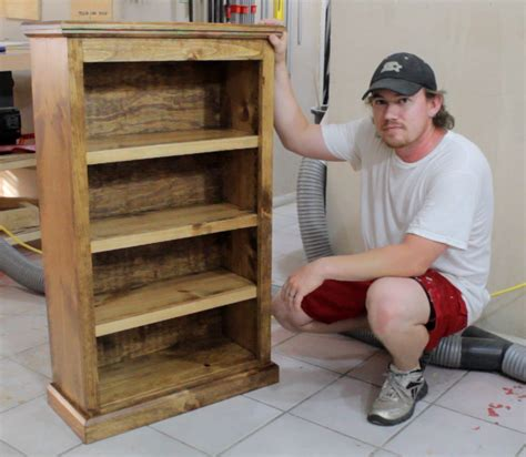 Kreg Jig Bookcase by Easy Pocket Bookcase Furniture Kreg Jig Projects
