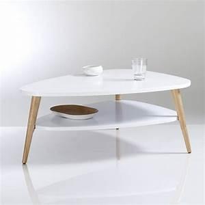 Table Basse Scandinave Vintage : table basse vintage double plateau jimi la redoute interieurs la redoute ~ Teatrodelosmanantiales.com Idées de Décoration