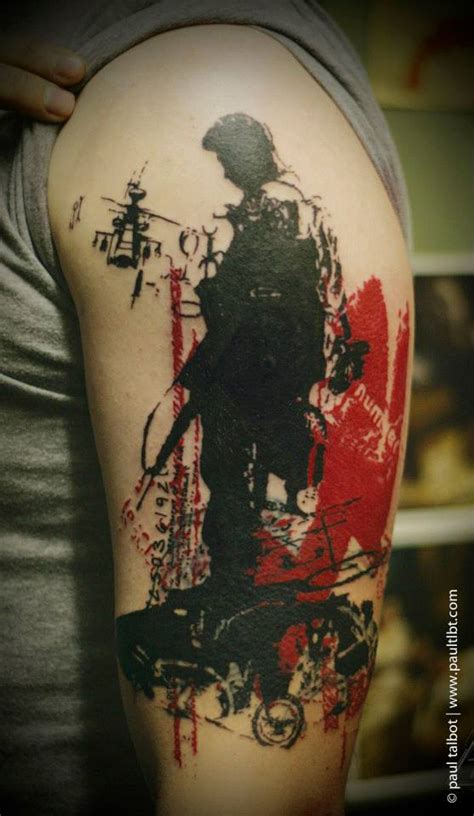 paul talbot tattoo artist
