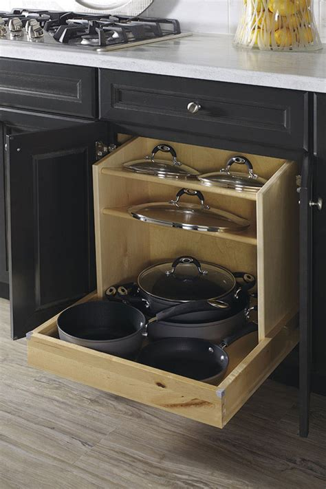 kitchen cabinet pan organizer thomasville organization pots and pans organizer 5647