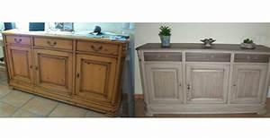 renover un meuble en chene avant relooking cuisine chane With peindre meuble en chene vernis