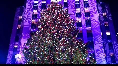 rockefeller center christmas tree lighting 2013 youtube