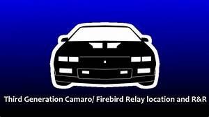 Horn Location 1992 Camaro Engine Diagram