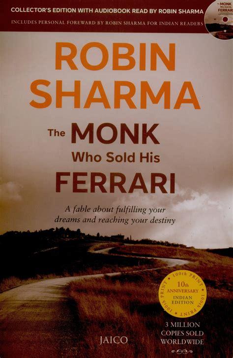 the monk who sold his the monk who sold his with cd buy