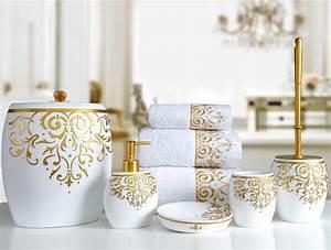 Bad Accessoires Gold : banyo aksesuar seti leylara her ey burada ~ Whattoseeinmadrid.com Haus und Dekorationen