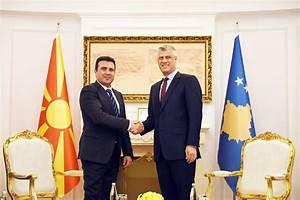 Thaçi receives Prime Minister of Macedonia - European ...