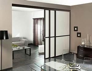 une separation de piece dans lesprit loft contemporain With meuble pour separation de piece 7 une cloison deco pour separer sans assombrir