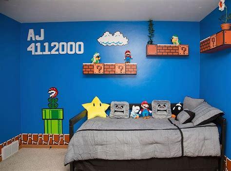 deco chambre mario un papa réalise une chambre mario bros avec les
