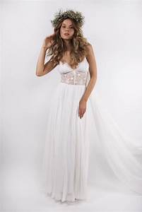 greek vestido de noiva floating bohemian style wedding With bohemian beach style wedding dresses