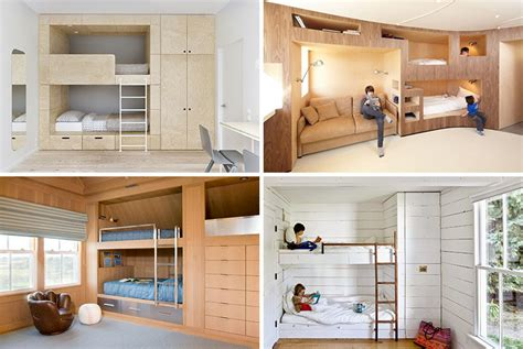 12 Bedrooms With Cool Built Ins by 12 Inspirational Exles Of Built In Bunk Beds