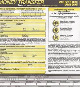Searchitfast - Image - western union money transfer form