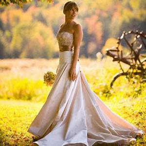 beautiful bridal fall wedding ideas With fall country wedding dresses