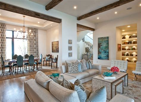 rug for living room 25 exciting design ideas for faux wood beams home