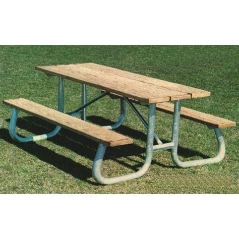 steel picnic table frame picnic table frame 8 ft welded galvanized steel