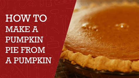 how to make a pie how to make a pumpkin pie from pumpkin best pumpkin pie recipe pumpkinpie baking youtube