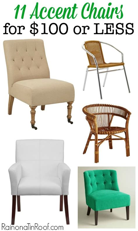 11 accent chairs for 100 or less for any style