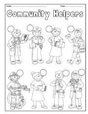 11418 community helpers clipart black and white 1000 images about language learners on