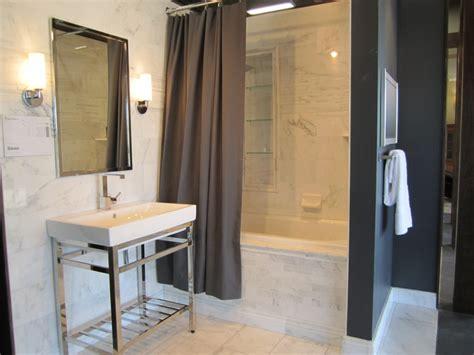 gray shower curtain contemporary bathroom sherwin