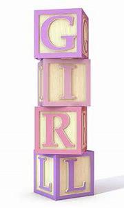 Toy Letter Blocks Girl Digital Art by Allan Swart