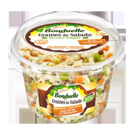 grammage cuisine bonduelle lance les graines de salade 100 veggie