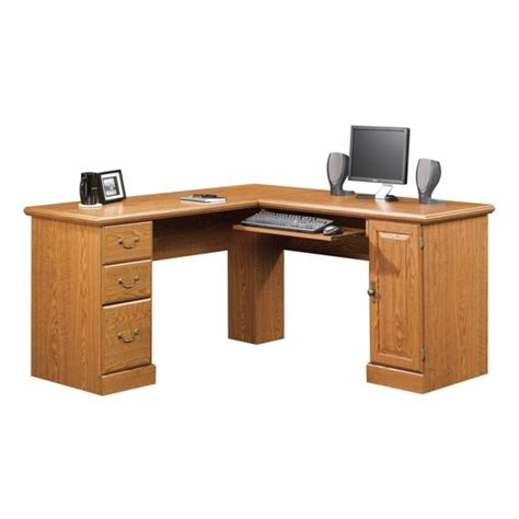 sauder l shaped desk sauder orchard l shaped desk 401929