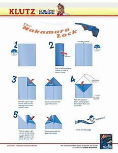 Fold A Nakamura Lock Paper Airplane  One Of The Best