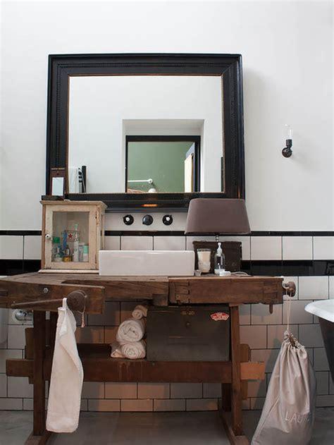 industrial vanity houzz