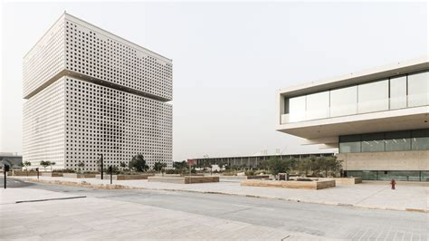 Omadesigned Qatar Foundation Unveiled In New Photos Curbed