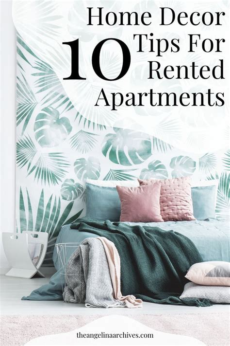 diy home decor tip  rented apartments rented