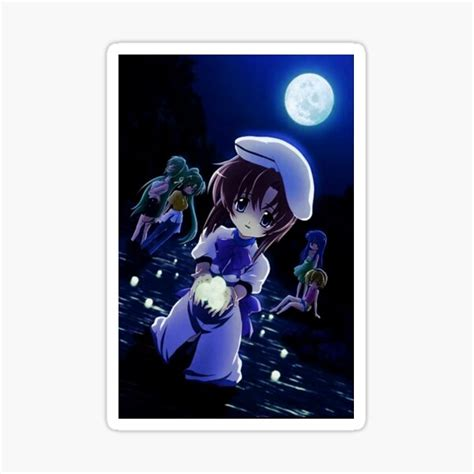 higurashi when they cry stickers redbubble