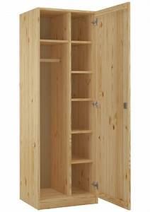 Kleiderschränke Aus Holz : schrank spind eint rig kiefer massiv mit vielen f chern und schloss flur und diele ~ Markanthonyermac.com Haus und Dekorationen