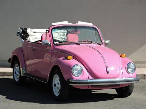 pink convertible volkswagen 1977 volkswagen beetle custom convertible barrett