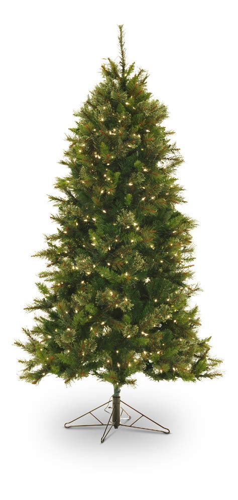 artificial christmas trees rochester ny northwoods pine 6 5 pre lit artificial tree hom furniture