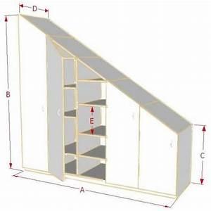 Penderie Sur Mesure : 25 best ideas about armoire sous pente on pinterest ~ Zukunftsfamilie.com Idées de Décoration