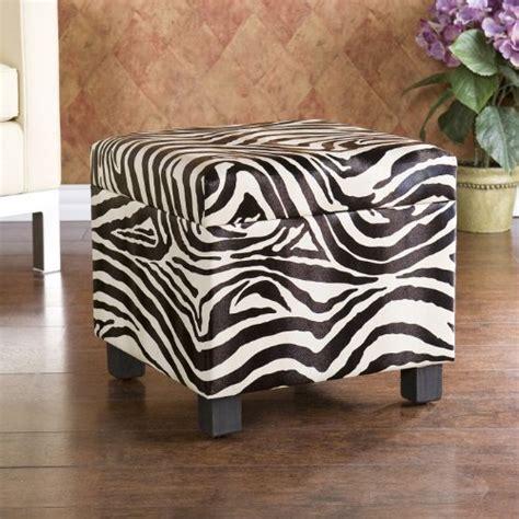 Zebra Storage Ottoman by 5 Best Zebra Ottoman No Drab Room Any More Tool Box