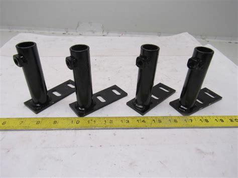tube crossmember bracket floor anchor support bracket