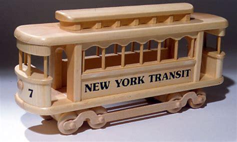 trolley car toy plan