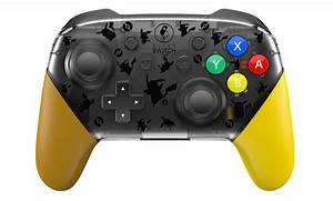 This Switch Pro Controller Replacement Shell Is Pok U00e9mon