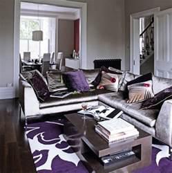 purple livingroom gray purple living rm