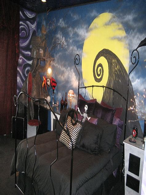 nightmare before themed bedroom 40 creepy nightmare before decorations