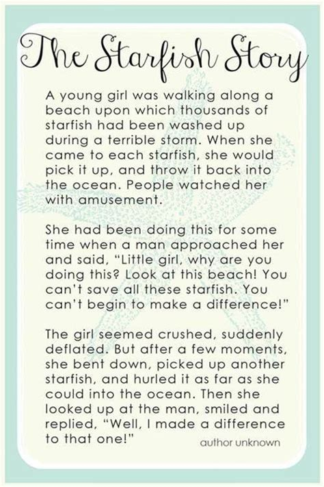 starfish story printable bing images  images