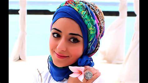 turban hijab tutorial  hot weather   holiday youtube