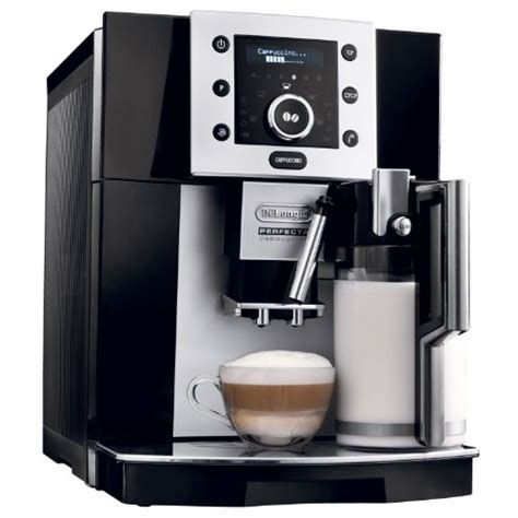 delonghi perfecta cappuccino mahlwerk coffee consumers delonghi esam5500b perfecta digital automatic espresso machine with