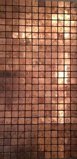 ideas    real copper mosaic tiles