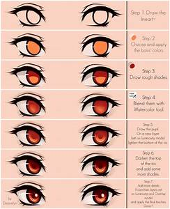 Eyes coloring tutorial v.2.0 by Deavelyn | Draw and ...