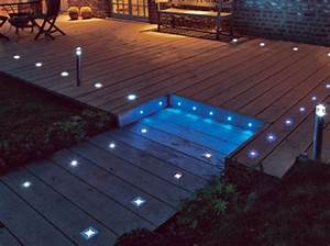 Eclairage Piscine Bois : choisir les luminaires ext rieurs installer autour d une ~ Edinachiropracticcenter.com Idées de Décoration